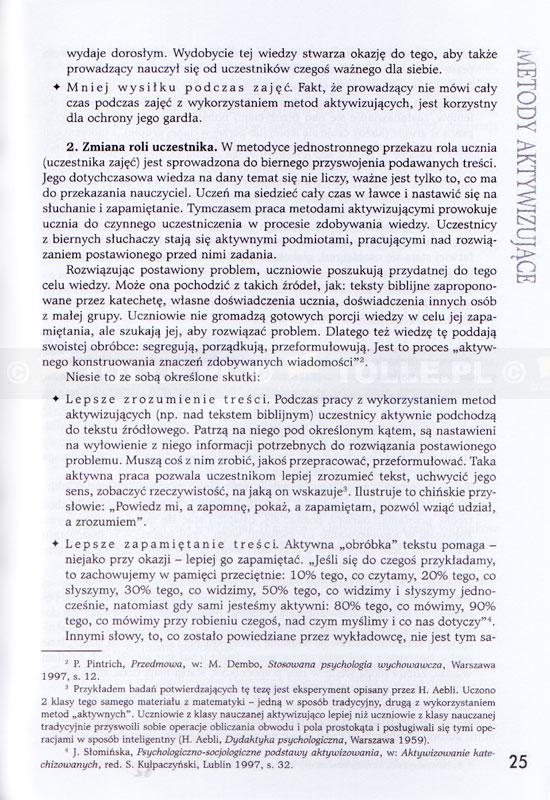 Vademecum katechety. Metody aktywizujące - Klub Książki Tolle.pl