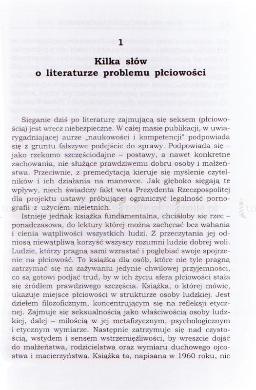 Wartość współżycia małżeńskiego - Klub Książki Tolle.pl