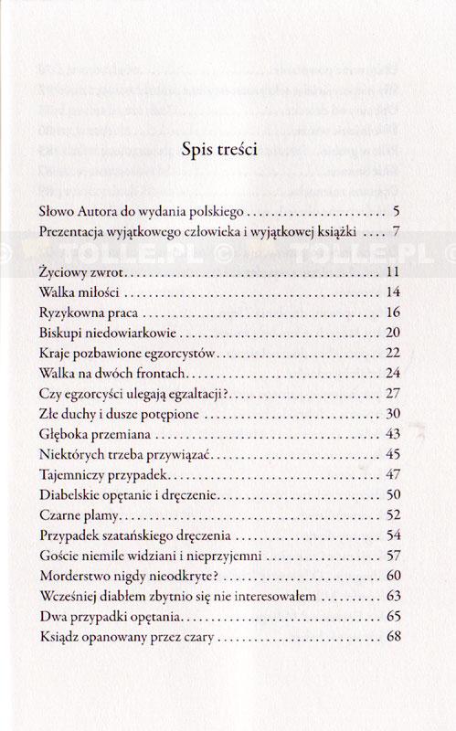 Wspomnienia egzorcysty. Moje życie w walce z Szatanem - Klub Książki Tolle.pl