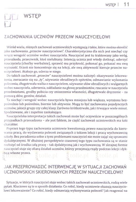 Zachowania przeciw nauczycielowi - Klub Książki Tolle.pl