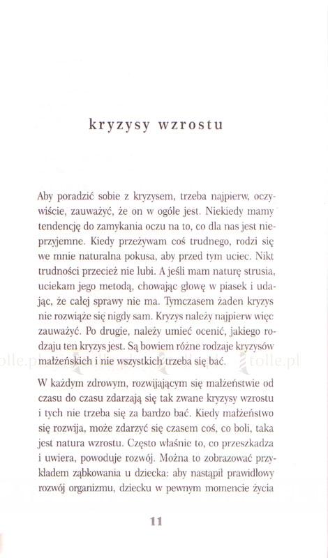 Najkrócej o... zwyciężaniu kryzysów małżeńskich - Klub Książki Tolle.pl