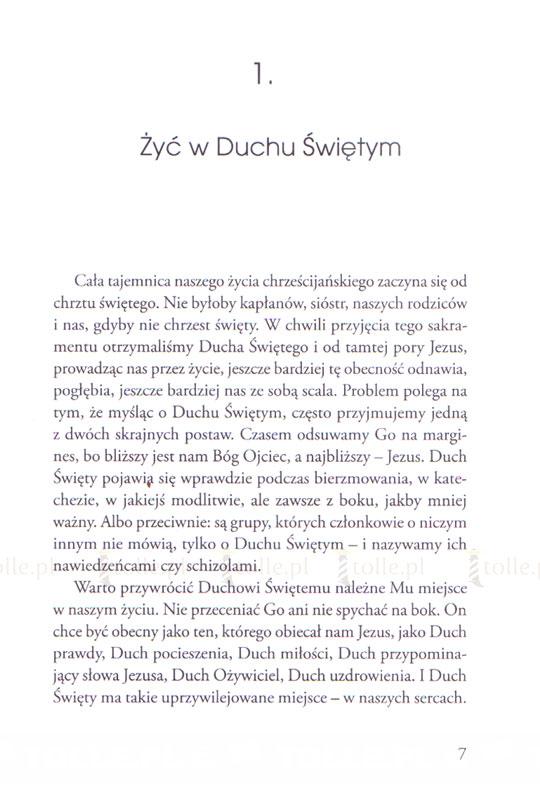 Żyć w Duchu Świętym. Rekolekcje charyzmatyczne - Klub Książki Tolle.pl