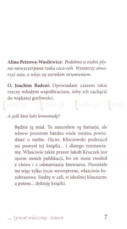 ... żywot wieczny. Amen - Klub Książki Tolle.pl